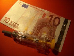 Geldschein Kostenübernahme Heilpraktiker